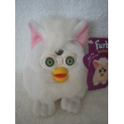 "Furby Buddy ""Good Sleep"" Tiger Electronics Plush Beanie Not Electronic Green Eyes"