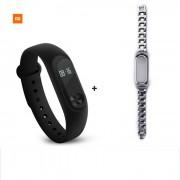 Xiaomi 042 \\\ OLED tactil mi banda 2 pulsera inteligente c/ correa de acero
