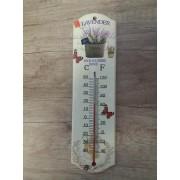 Levendulás hőmérő