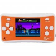 RS - 1 Retro Videoconsola Portatil De 8 Bits, Color Verdadero Pantalla LCD De 2,5 Pulgadas, Construido En 152 Tipo Juegos (naranja)