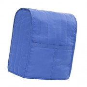 ELECTROPRIME® Cotton Mixer Cover Dustproof Bag w/Storage Pocket for Stand Mixers Blue L