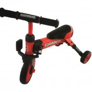 Tricicleta pliabila transformabila in bicicleta fara pedale Grande Red