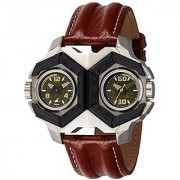 Fastrack Analog Green Dial Mens Watch-3151KL01