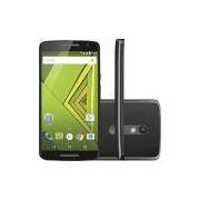 Smartphone Motorola Moto X Play Dual Chip Android 5.1 Tela 5.5 16GB 4G Câmera 21MP - Preto