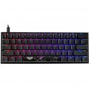 Tastatura gaming DUCKY Mecha Mini RGB Cherry MX Blue Mecanica Black
