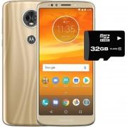 Celular Motorola Moto E5 Plus 32+3GB Dual Sim + Micro SD 32gb Dorado