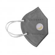 Masca de protectie KN95 / FFP2, 5 straturi, cu valva de expirare NB950 (Gri)