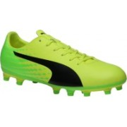 Puma evoSPEED 17.5 FG Outdoors For Men(Yellow)