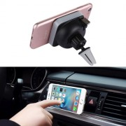 360 Degree Rotate Car Air Outlet Vent Adsorption Phone Wireless Charging Holder Stand Mount with 85cm Scalable USB Cable For iPhone Samsung LG Nokia HTC Huawei and other Smartphones