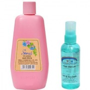 Simco Classic Hair Fixer 100g and Pink Root Hair Serum Pack of 2