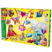 Детски креативен комплект за отливки и оцветяване, SES, 080477