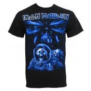 t-shirt metal uomo Iron Maiden - Blue Album Spaceman - ROCK OFF - IMTEE14MB