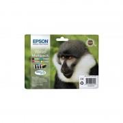 Epson T0895 Zwart en Kleur (4-Pak) (Origineel)