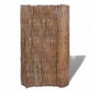 vidaXL Gard din ramuri de salcie pentru grădină 300 x 150 cm