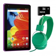 RCA Tablet RCA Voyager 7 pulgadas Android 16GB Quad-Core + KIT - Morada