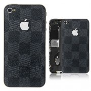 iPhone 4S Bakstycke LV (Svart)