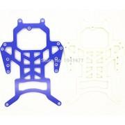 Generic Blue : CUSTOM RC MINI 4WD 1.5mm FRP Glass Fiber SUXX Evo.1 Chasis Sets Parts For Tamiya MINI 4WD C100 1Set/lot
