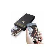 Impressora Fotográfica Kodak Pm210b Mini Wifi Para Android E Ios Preta