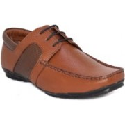 Blue Pop Men And Boys Casual Stylish Leather Party Wedding Formal Boots Shoes Boots For Men Boat Shoes For Men(Tan)
