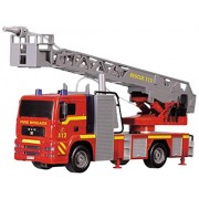 Dickie Toys 12' Light and Sound SOS Fire Engine Vehicle (With Working Pump)