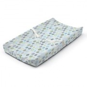 Summer Infant Ultra Plush Changing Pad Cover Blue Swirl