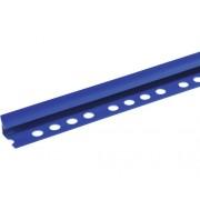 Profil colt pentru gresie si faianta din PVC, interior, 10 mm, albastru IU18