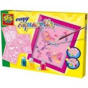 Детски комплект за оцветяване, SES, 080613