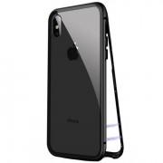 Husa APPLE iPhone SE 2 (2020) - 360 Grade Magnetic (Negru)