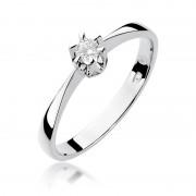 Biżuteria SAXO 14K Pierścionek z brylantem 0,10ct W-111 Białe Złoto RATY 0% | GRATIS WYSYŁKA | GRATIS ZWROT DO 1 ROKU | 100% ORYGINAŁ!!
