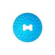 Brinquedo Para Cachorro Bola Sorriso Gumz Rogz Azul M
