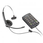 Teléfono analógico de diadema Plantronics T110