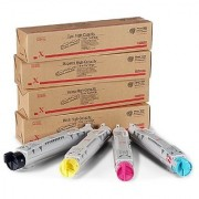 Xerox 6250 Toner Cartridge ( Black Cyan Yellow Magenta)