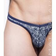 Mategear Nan Song V Front Tapered Sides Thin Nylon Printed Signature Series Sexy Ultra Bikini Underwear Denim 2061208