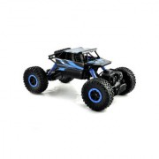 KidzFan 2.4 Ghz 4 Ch. 4 Wheel Drive Rock Crawler Off Road Monster Driving Truck Dual Motor Power Off Road Climber