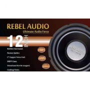 Rebel Audio DH12 D4 V2 Subwoofer 1200 Watts 400 RMS DVC Dual Voice Coil