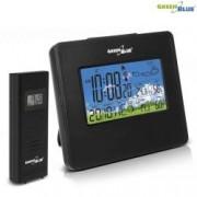 Statie Meteo Wireless cu Ceas Digital Indica Umiditate Temperatura Data Culoare Negru