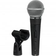 Microfono Shure SM58S 1 Canal Negro