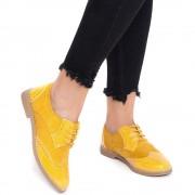 Pantofi dama Blossy, Galben 38