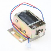 TFS-A32 File Kastdeur Electric Slotassemblage Solenoid DC 12 V 0.6A Cilindrische klink MyXL