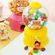 Orange Idea Funny Mini Twist Candy Machine with Piggy Bank Toy Money Pot Box