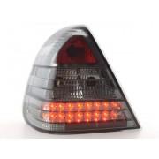 FK-Automotive LED feux arrières pour Mercedes Classe C (type W202) An 96-00, noir
