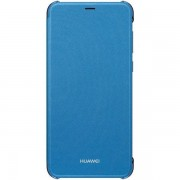 Husa Huawei P Smart Flip Cu Stand Albastra