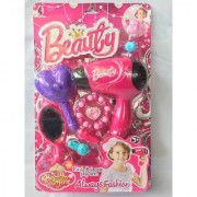 Little Princess' Make Up Kit Play Set Including Working Hair Dryer (Multi Colour Modal)