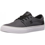 DC Men s Trase TX Unisex Skate Shoe Charcoal/Black 6 D(M) US