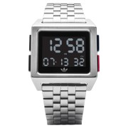 Adidas Archive M1 Watch Silver Black Blue
