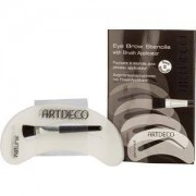 ARTDECO Make-up Eyes Eye Brow Stencils with Brush Applicator 1 Stk.