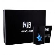 Thierry Mugler A*Men Rubber sada toaletní voda 50 ml + sprchový gel 50 ml pro muže