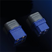 DualSky A Pair XT60 Plug Male Female Connector Set with Wire Casing For RC Model Battery