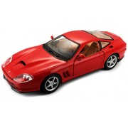 Bburago 1:24 Scale Ferrari Race and Play 550 Maranello Diecast Vehicle (Colors May Vary)