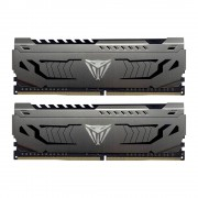 DDR4, KIT 16GB, 2x8GB, 3600MHz, Patriot Viper Steel (PVS416G360C7K)